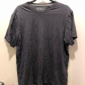 Eddie Bauer Men's Black T-Shirt